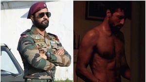 Vicky Kaushal, who was very lean during the shoot of Raman Raghav, bulked up for Uri: The Surgical Strike.