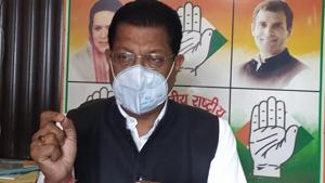 Congress leader Suryakant Dhasmana 's allegations have been rubbished by the BJP.(HT Photo)