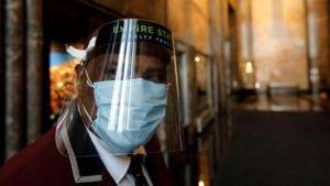 The state of New York (with NYC as the epicentre) led the 'first-wave states' that also included New Jersey, Illinois, Massachusetts and Pennsylvania when the coronavirus first swept through the country in March.(REUTERS)