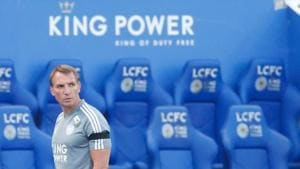 Leicester City manager Brendan Rodgers.(REUTERS)