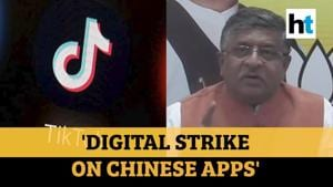 'Digital strike to secure data of Indians': RS Prasad on banning Chinese apps
