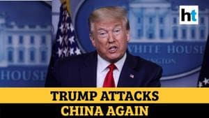 'Plague from China should have never happened': Trump on Covid outbreak