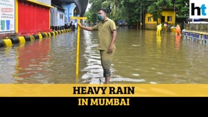 Watch: Heavy rain lashes Mumbai and suburbs; waterlogging in several areas
