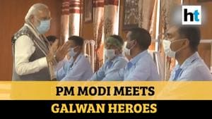 'You inspire the nation': PM Modi meets soldiers injured in Galwan faceoff