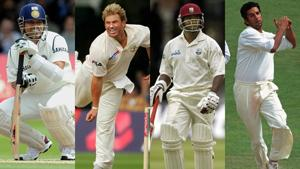 Sachin Tendulkar, Shane Warne, Brian Lara and Wasim Akram have never got a five wicket haul or scored a century at Lord's.(Getty Images)