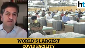 Vikram Chandra on world's largest Covid facility, need for ICU beds