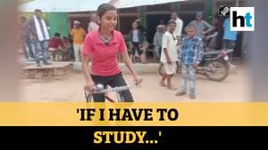Cycled 24 km daily, got 98.7% in exams: MP girl sets example for India