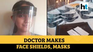 HT Salutes: Assam doctor who makes face shields, masks for Covid warriors