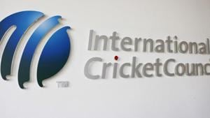 The International Cricket Council (ICC) logo at the ICC headquarters in Dubai, October 31, 2010. REUTERS/Nikhil Monteiro/File Photo(REUTERS)