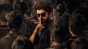 Vijay in a poster from Master.