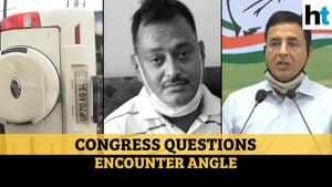 Vikas Dubey case: Congress cites videos, questions 'accident & encounter' angle