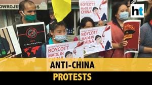 Watch: Tibetan Youth Congress protests against China in Dharamshala