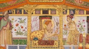 Held in the Royal Library in Windsor Castle, the Royal Collection contains one of the finest south Asian paintings and manuscripts in the world, including the Mughal era 'Padshahnama', Tipu Sultan's Quran and the story of Prahlada from the Bhagavata Purana, 1775–90, by the Nainsukh family workshop.(Photo: Royal Collection Trust / © HM Queen Elizabeth II 2020)