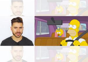Watch Alex Costa's YouTube video to give your wardrobe a twist and fans can feast on the offfical Twitter handle of Simpsons