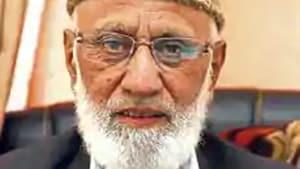 Ashraf Sehrai is chairperson of the pro-Pakistan Tehreek-e-Hurriyat(File photo)