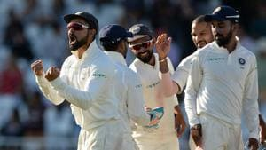 Virat Kohli led India to their first Test series win in Australia in 71 years.(Getty Images)