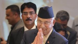 Nepal's Prime Minister KP Oli had said on Monday that Lord Ram was born in Nepal.(AP File Photo)
