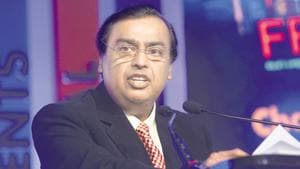 RIL's 43rd AGM is being held virtually amid the ongoing crisis coronavirus pandemic.(Mint file photo)