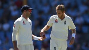 File photo of James Anderson and Stuart Broad.(Getty Images,)