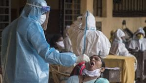 Over a million Indians have now been infected by SARS-Cov-2. Over 25,000 of them have died. India is the third most affected country in the world by caseload.(Pratik Chorge/HT Photo)
