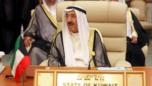 Kuwait's Emir Sheikh Sabah al-Ahmad al-Jaber al-Sabah has been hospitalised(REUTERS)