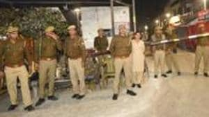 Police have booked 50 unidentified persons for creating ruckus and voluntarily causing hurt.(PTI)