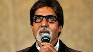 Amitabh Bachchan is recovering from the coronavirus.(REUTERS)