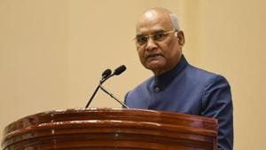 The president's contribution to the Army hospital has been made possible due to an exercise to economise expenditure at the Rashtrapati Bhavan, the communique said.(Vipin Kumar/HT PHOTO)