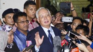The judge said Najib failed to raise reasonable doubt and that prosecutors had established beyond reasonable doubt that Najib misappropriated money for his own use.(AP file photo)