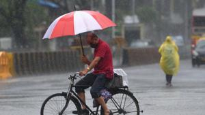 """As per IMD classification, """"heavy to very heavy rainfall"""" means precipitation ranging from 64.5 mm to 204.4 mm in a period of 24 hours.(Satish Bate/HT Photo)"""