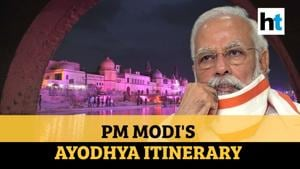 Ram Temple: PM Modi's Ayodhya itinerary as temple town readies for 5th August