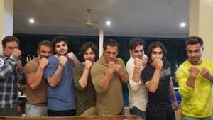 Salman Khan shared pictures from his Raksha Bandhan celebration.