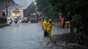 Red alert issued for Mumbai, nearby areas battered by heavy rain