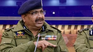 Dilbag Singh said less than 200 militants are currently active in Jammu and Kashmir, and just 26 terrorists could enter the Union Territory from across the border so far this year.(PTI)