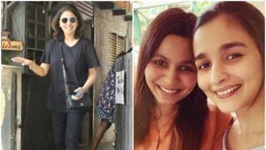 Neetu Kapoor commented a picture of Shaheen Bhatt.