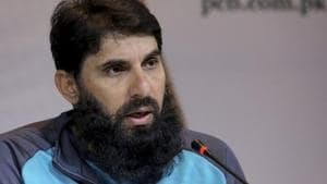 Chief selector and coach of Pakistan Cricket Misbah-ul-Haq.(AP)