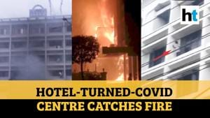 At least 9 dead after fire breaks out at Covid facility hotel in AP's Vijayawada