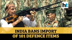 Rajnath Singh announces import ban on 101 defence items in self-reliance push