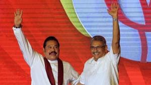 Gotabaya Rajapaksa has firmly consolidated his power as president, and the parliamentary win now brings back the former president Mahinda Rajapaksa as prime minister(AP)