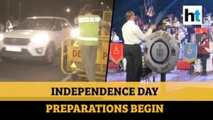 Independence Day 2020: Security tightened, Armed Forces band wows spectators