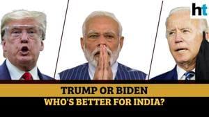 Donald Trump Vs Joe Biden for President: Who will be better for India?