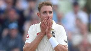 Broad fined 15 percent match fee, handed demerit point