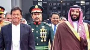 Pakistan hasn't had its way with Saudi Arabia that has been reluctant to convene meeting of OIC at Imran Khan's instance to discuss Kashmir issue(AFP)
