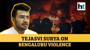 Bengaluru violence: Tejasvi Surya on Congress-SDPI link; says 'make rioters pay'