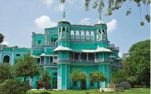 Rajmahal in Faridkot is spread over 14 acres. It was constructed in 1885 as the royal residence. Now, a 150-bed charitable hospital stands on a portion of the palace ground.(HT file photo)