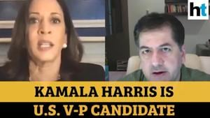 Vikram Chandra on Kamala Harris making India proud, other top stories