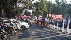A document concerning the tie-up, which HT has seen, read that Delhi is one of the cities chosen by the philanthropy group to join the 2020-25 initiative for global road safety. . (Photo by Sanket Wankhade/HT PHOTO)