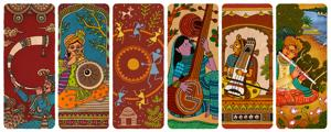 The Doodle shared by Google for India's 74th Independence Day(Google)