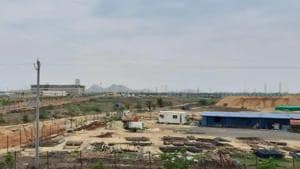 Thousands of farmers had given their land for the development of Amaravati as the capital city of Andhra Pradesh.(File Photo/HT)