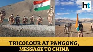 Ladakh: Clear message to China as soldiers hoist tricolour at Pangong lake